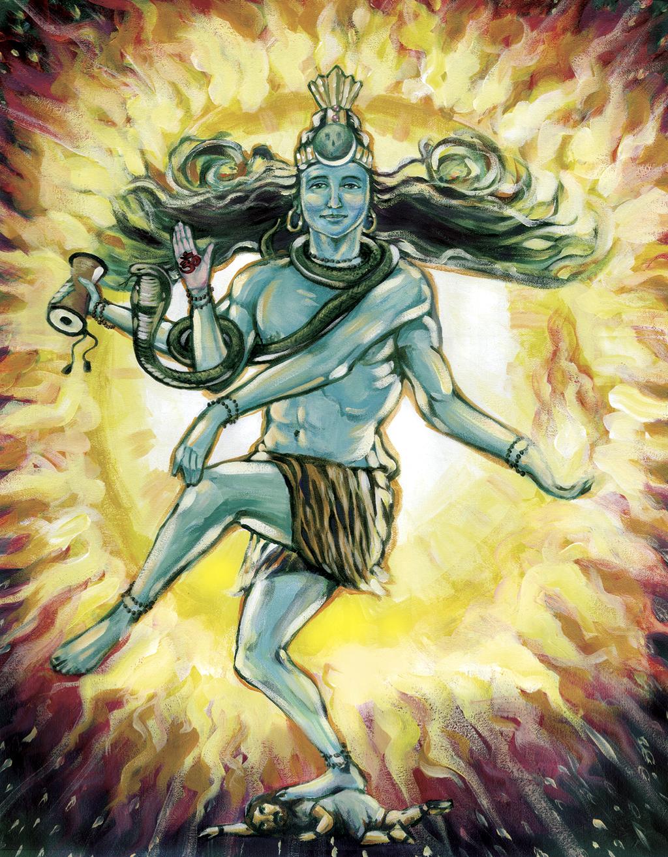 Lord Shiva Angry Print photos